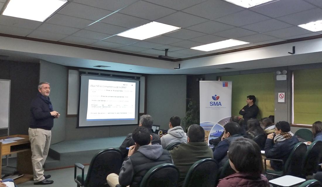Coquimbo: SMA realizó taller sobre Municipalidades y derivación de denuncias
