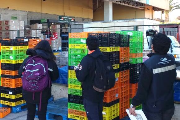 Coquimbo: SMA fiscaliza el cumplimiento de la Norma Lumínica a locales comerciales