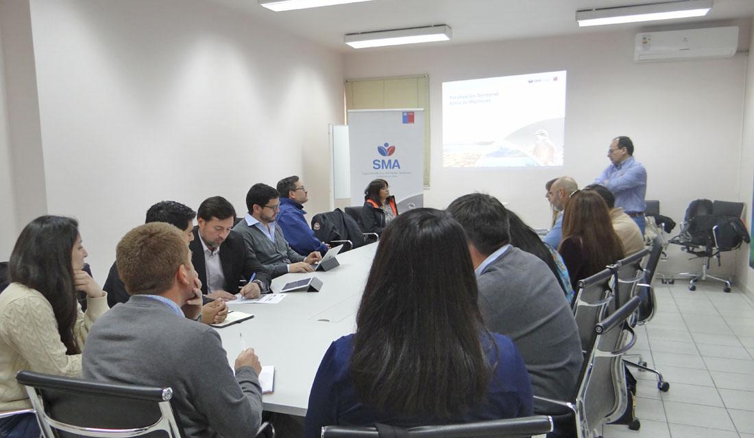 SMA se reúne con titulares y comunidades de Mejillones