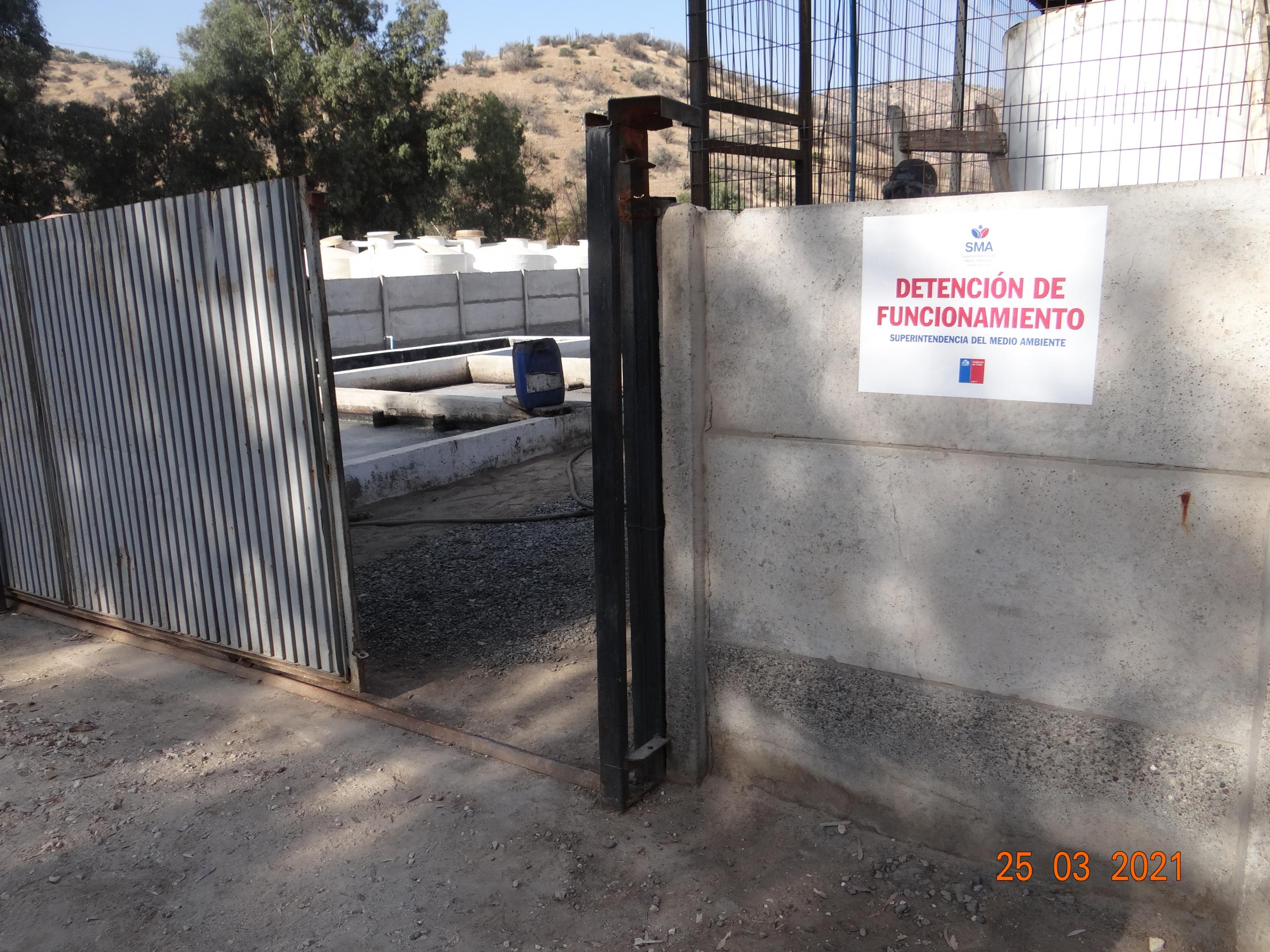 """Superintendente De La Maza Detiene Funcionamiento de Instalaciones """"Nueva Tapihue Norte S.A."""""""